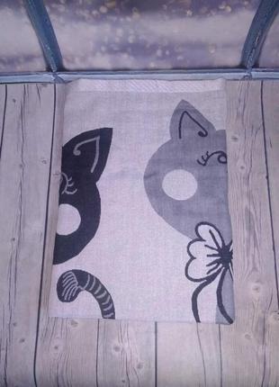 Банное полотенце коты