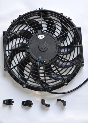 """Вентилятор кондиціонера тягне-штовхає, 24В, 120 Вт, 12 """"(дюймів)"""