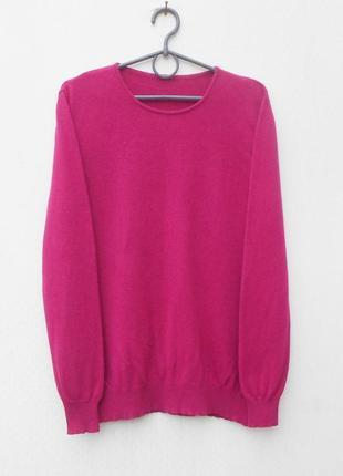 Осенний зимний свитер шелк кашемир с длинным рукавом