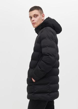 Мужская зимняя удлинённая куртка reserved скидка