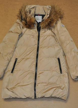 Moncler женская куртка пуховик монклер
