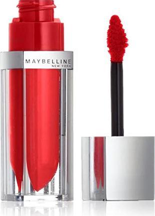 Maybelline new york color elixir жидкая помада для губ 505