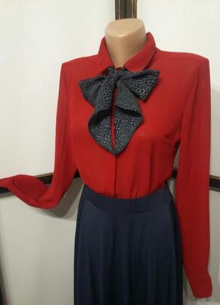 Итальянская блуза шифоновая блузка