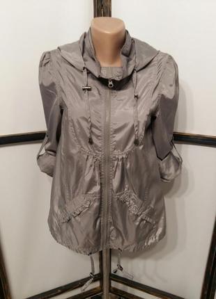 Куртка курточка ветровка женская капюшонка бренд new look
