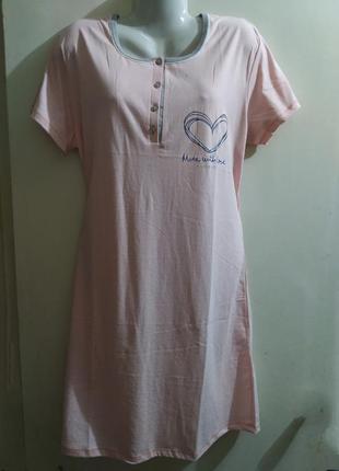 Ночная сорочка женская хлопок