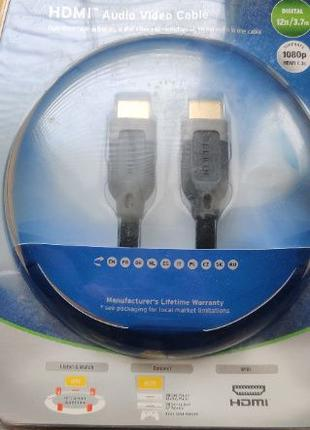 Кабель Belkin HDMI2HDMI(AM/AM)High Speed Ethernet 3,7m(24kgold)