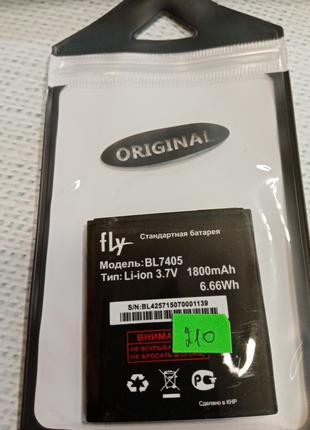 Аккумулятор (оригинал 100%) для Fly BL7405 новый