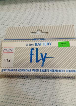 Аккумулятор (оригинал 100%) для Fly BL3812 новый