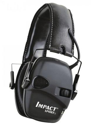 Активні навушники Howard Impact Sport Earmuff Tactical Black