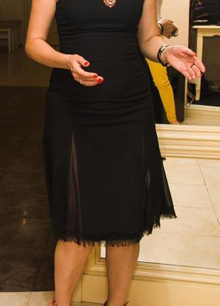 Стильное универсальное платье-футляр а-образного силуэта zara ...
