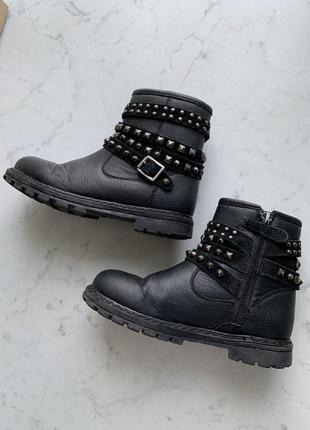 Демисезонные стильные ботинки сапожки mayoral 30 размер