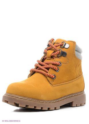 Демисезонные кожаные стильные ботинки сапожки mayoral 32 размер