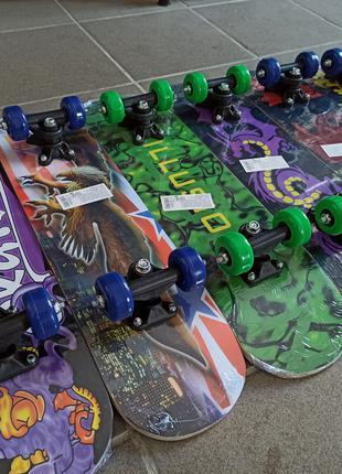 Скейти дитячі ( скейтборди ) довжина 60см.
