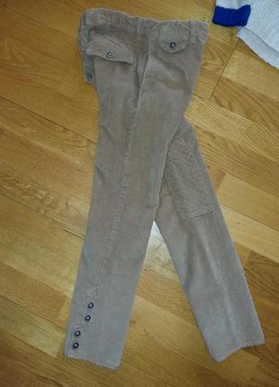 Микровельветовые штаны скинни zara