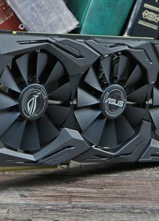 Продам Asus GeForce GTX 1070 ROG Strix 8GB