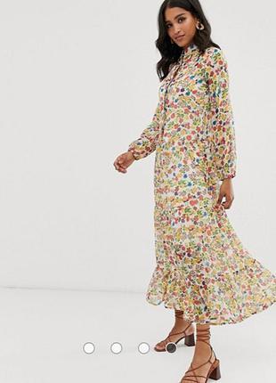Шикарное платье макси asos
