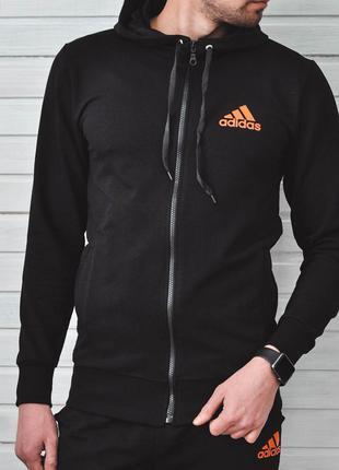 Спортивный костюм с принтом adidas | костюм спортивний кофта х...