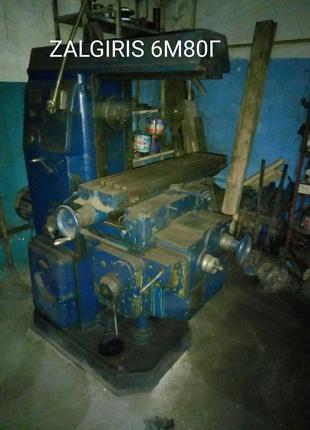 Станок фрезерный  6М80Г.  цена 30 000грн...  подключен, рабочий.