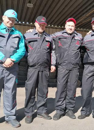 Спецодежда, куртка и полукомбинезон, брюки рабочие, комбинезон