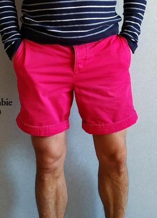 Мужские летние котоновые шорты hollister