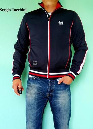 Мужская олимпийка ветровка куртка sergio tacchini