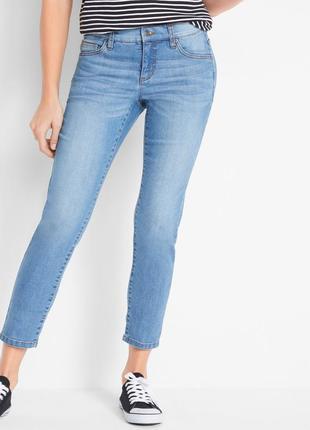 Джинси суперстрейч бренду john baner jeanswear ( довжина 7/8 )
