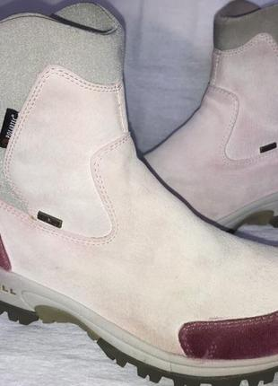 Сапоги ботинки замшевые merrell оригинал 38.5p