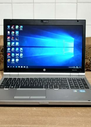 Ноутбук HP Elitebook 8560p,15,6'', i5-2520M, 8GB, 320GB, ATI Rade