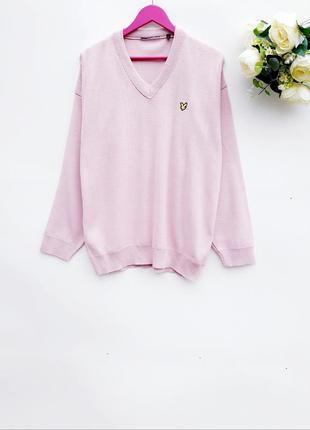 Нежно розовый свитер кофта мужская свитер для мужчин
