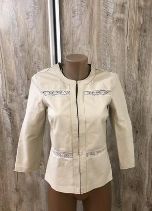 Graham & spencer куртка курточка жакет пиджак кожаный кожаная ...