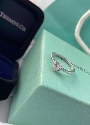 Женское серебряное кольцо в стиле tiffany&co 🔥серебро 925 пробы