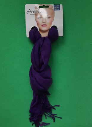 Шарф фиолетового цвета женский