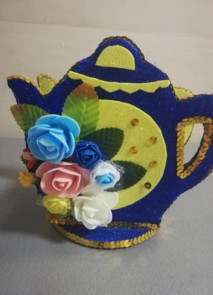 Домик для чайных пакетиков ручная работа