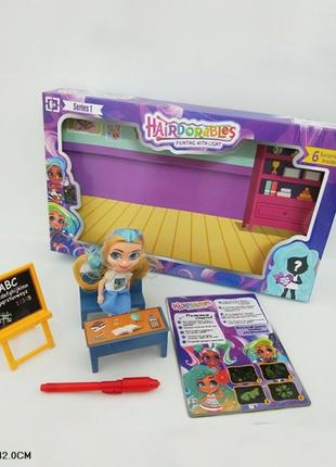 """Оска """"Рисуем светом"""" игровой набор доска, ручка, кукла, в кор 25*"""