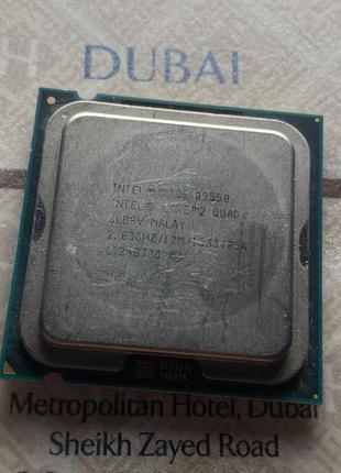 Процессор Intel Core 2 Quad Q9550 2.83Ghz s755
