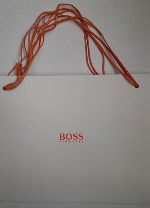 HUGO BOSS. Пакет брендовый подарочный упаковочный! Разные бренды!