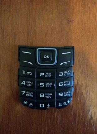 Клавіатура Samsung GT- E 1200 i