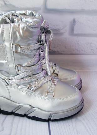 Зимние ботинки девочке сапоги