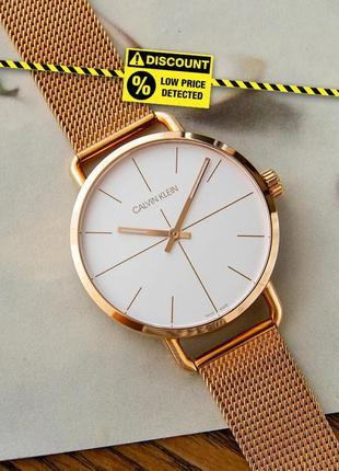 - 60% | женские швейцарские часы calvin klein even k7b216...