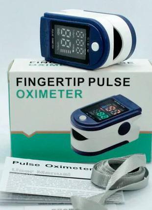 Измеритель пульса/кислорода в крови Пульс-оксиметр на палец