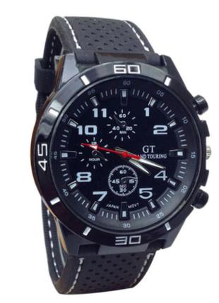 Стильные спортивные мужские часы механические. Часи наручні чолов
