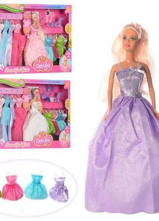 Кукла с нарядами Defa Lucy 8027 с одеждой