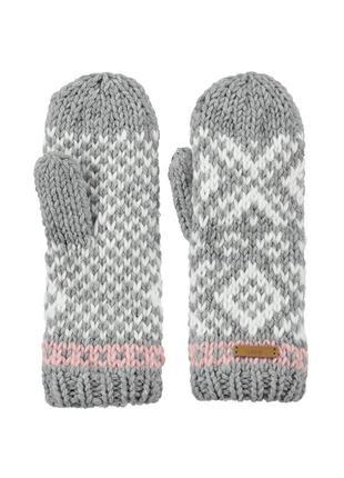 Варежки перчатки рукавицы утепленные на флисе barts