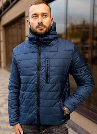 Куртка мужская на весну стеганая демисезон / куртка весна весе...