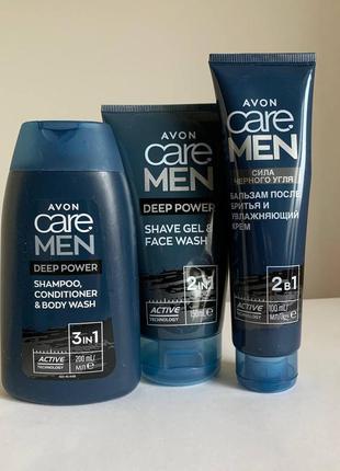 """Набір """"заряд енегрії"""" для чоловіків avon care men"""