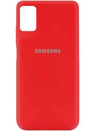 Чехол Silicone Cover для Samsung Galaxy M31s (Красный)