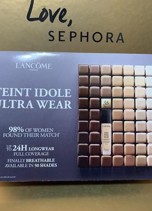 Пробник тона lancome teint idole ultra wear