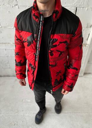 Весенняя мужская куртка camo