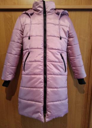 Детская зимняя куртка- пальто на девочку