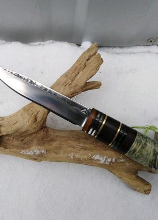 Охотничий нож ручной работы